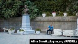 Бюст Николая ІІ в Крыму