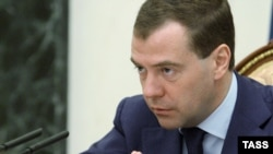 "Russian President Dmitry Medvedev has denounced the actions of the U.S. mother as a ""monstrous deed."""