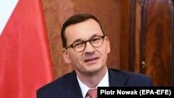 Полскиот премиер Матеуш Моравјецки