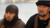 Dilovar Dodoev (left) has been frequently shown posing next to Gulmurod Halimov (right), a former Tajik colonel who is one of Islamic State's most notable international recruits.
