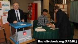 Виборча дільниця на регіональних виборах у Франції, 13 грудня 2015 року