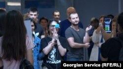 18-летняя девушка потеряла глаз в ходе разгона акции, во время т.н. «гавриловской ночи»