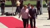 Зеленский, Макрон и Меркель