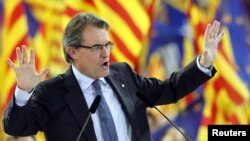 Artur Mas, the president of Spain's Catalonia region.