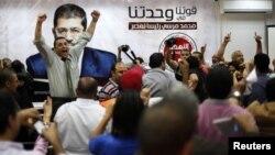 Pristalice Muhameda Morsija slave pobedu u sedištu Muslimanskog bratstva