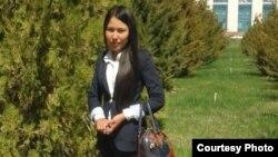 Мадина Кудайберген, студентка Международного казахско-турецкого университета имени Ходжи Ахмета Яссауи.