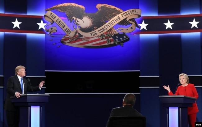 Теледебаты Дональда Трампа и Хиллари Клинтон