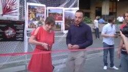Protesni performans desničarskih partija zbog festivala 'Mirdita'