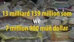 Özbegistan: maliýe piramidasyny guran tutuldy