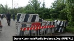 Блок-пост на де-факто грузино-абхазской границе на реке Ингури (архивное фото)