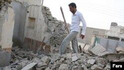 زلزله در استان هرمزگان هفت کشته بر جای گذاشت و صدها خانه را تخریب کرد. (عکس از فارس)
