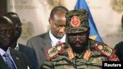 Президент Южного Судана Салва Киир