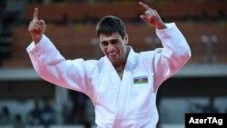 Brazilya, Azərbaycanlı cüdoçu Rüstəm Orucov, Olimpiya oyunlarında ilk gümüş medalı qazanıb 8 avqust 2016