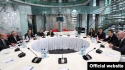ეუთოს საპარლამენტო ასამბლეის დელეგაციისა და პრემიერ-მინისტრის შეხვედრა