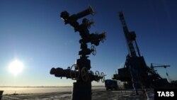 Сібірдегі газ ұңғымасы. Ресей, 23 қазан 2012 жыл. (Көрнекі сурет)