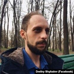 волонтер Дмитро Шибалов