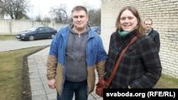 Аксана Закрэўская і Дзьмітры Смолька