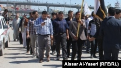 جانب من تشييع جثمان الإعلامي محمد الشمري