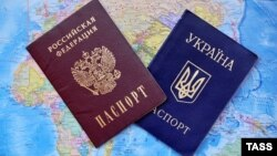 Russia -- Russian and Ukrainian passports - generic