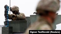 Ushtria amerikane mban trajnim në Maqedoni