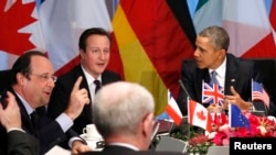 G7 leaders meeting last month in The Hague