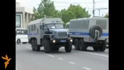ОМОН в Симферополе 18 мая