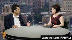 Լեռնային Ղարաբաղի մարդու իրավունքների պաշտպան Ռուբեն Մելիքյանը «Ազատության» տաղավարում, 16-ը հուլիսի, 2016 թ.