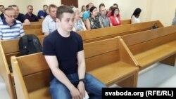 Міліцыянт Руслан Салаўёў, які страляў у Андрэя Гаўроша