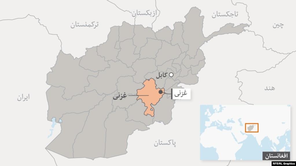 گفته میشود سقوط هواپیما در ولایت غزنی افغانستان روی داده است