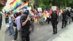 Gay Pride March In Split