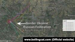 Докази обстрілів української армії з території Росії