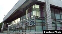 Оппозиция жыйыны өтчү Чыңгыз Айтматов атындагы орус драма театры.