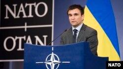 Міністр закордонних справ України Павло Клімкін у штаб-квартирі НАТО (архівне фото)