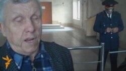 Акция протеста инвалидов в Алматы