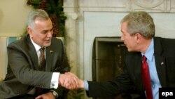 После встречи с Бушем вице-президент Ирака Хашими сообщил о состоявшемся «откровенном и продуктивном диалоге»