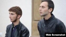 """Братья Адам и Магомед Исмаиловы, скриншот сюжета на ЧГТРК """"Грозный"""""""