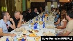 Ministar Roćen na radnom doručku sa predstavnicima medija, 9. jul 2012.