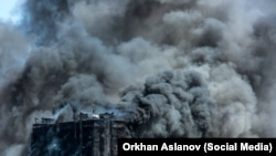 At Least 15 Killed In Baku High-Rise Apartment Fire