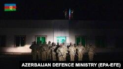 شماری از نیروهای آذربایجان