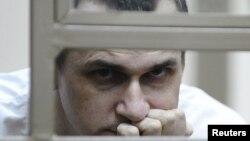 Imprisoned Ukrainian filmmaker Oleh Sentsov (file photo)
