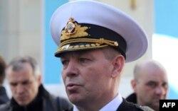 Екс-командувач ВМС України Сергій Гайдук