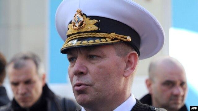 Командувач ВМС України контр-адмірал Сергій Гайдук був захоплений окупантами 19 березня