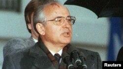 СССР-дің бұрынғы басшысы Михаил Горбачев.
