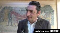 «Մինաս Ավետիսյան» հիմնադրամի նախագահ Արման Ավետիսյանը: