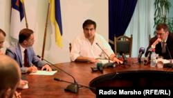 Украинерчу Одесса кIоштан губернатор Саакашвили Михаил, 2015.