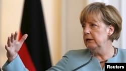 Kancelarja gjermane Angela Merkel