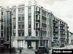 Паштоўка «Менск. 3-і дом Советаў». Другая палова 1930-х гг.
