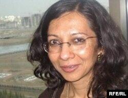 Лондон университетіндегі Шығыстану және африкатану мектебінің оқытушысы доктор Бавна Даве. Астана, шілде, 2010 ж.