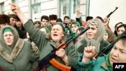 Çeçen qadınlar müharibədə, 15 dekabr 1994