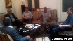 Ադրբեջանի ընդդիմության առաջնորդների հանդիպումը Բաքվում, 21-ը օգոստոսի, 2013թ․